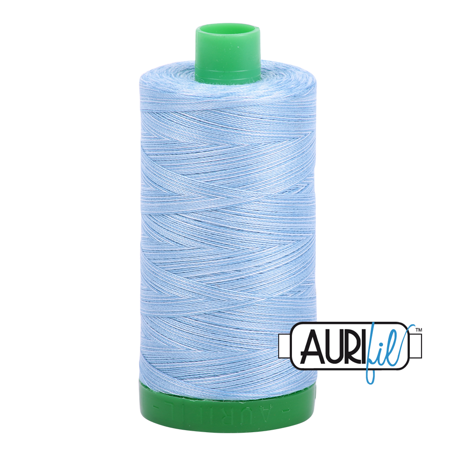 Aurifil 40wt - Stone Washed Denim