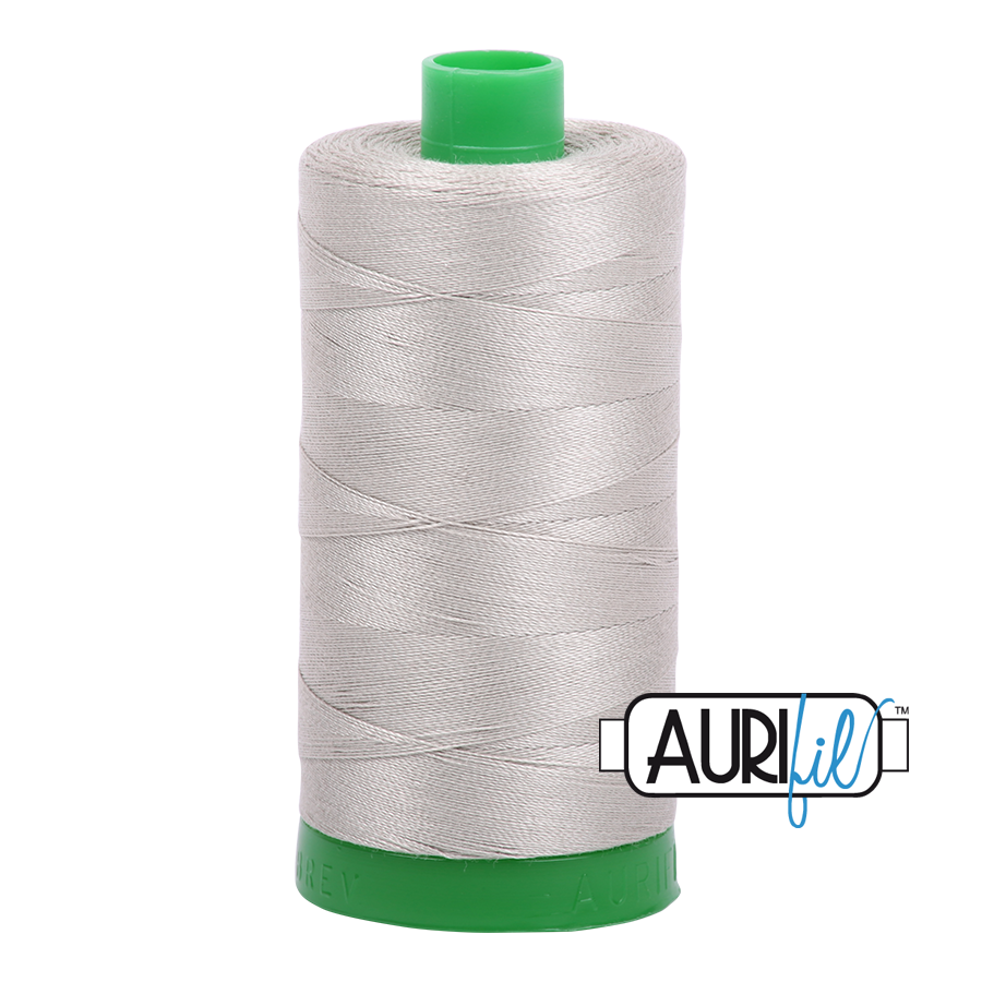 Aurifil 40wt - Light Grey