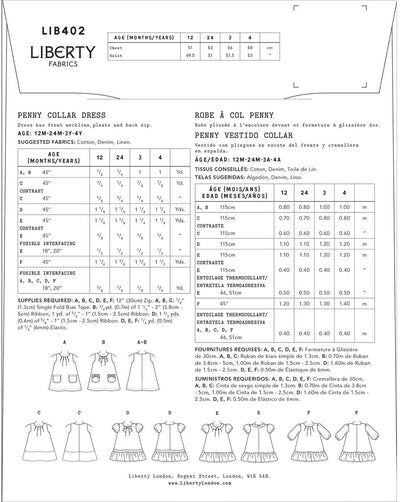 Mabel Tiered Dress Pattern