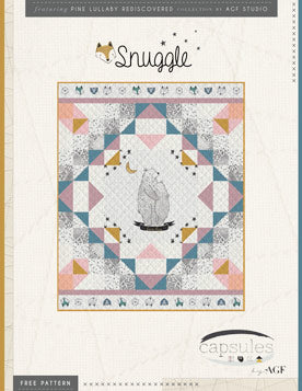 Pine Lullaby Rediscovered- Snuggle Quilt Kit