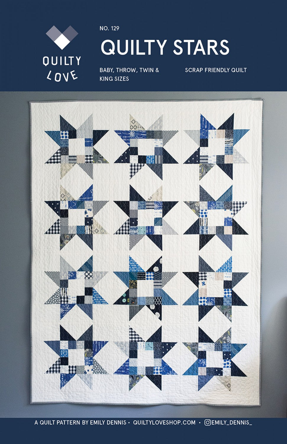 Quilty Stars Quilt Pattern
