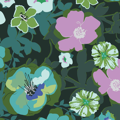 Rainforest Fusion - Blomma Garden Rainforest  | Rayon