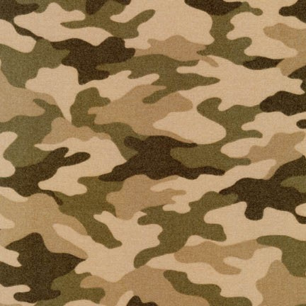 Camouflage Flannel - Beige
