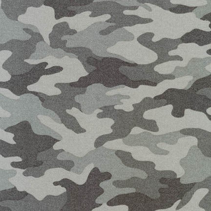 Camouflage Flannel - Grey
