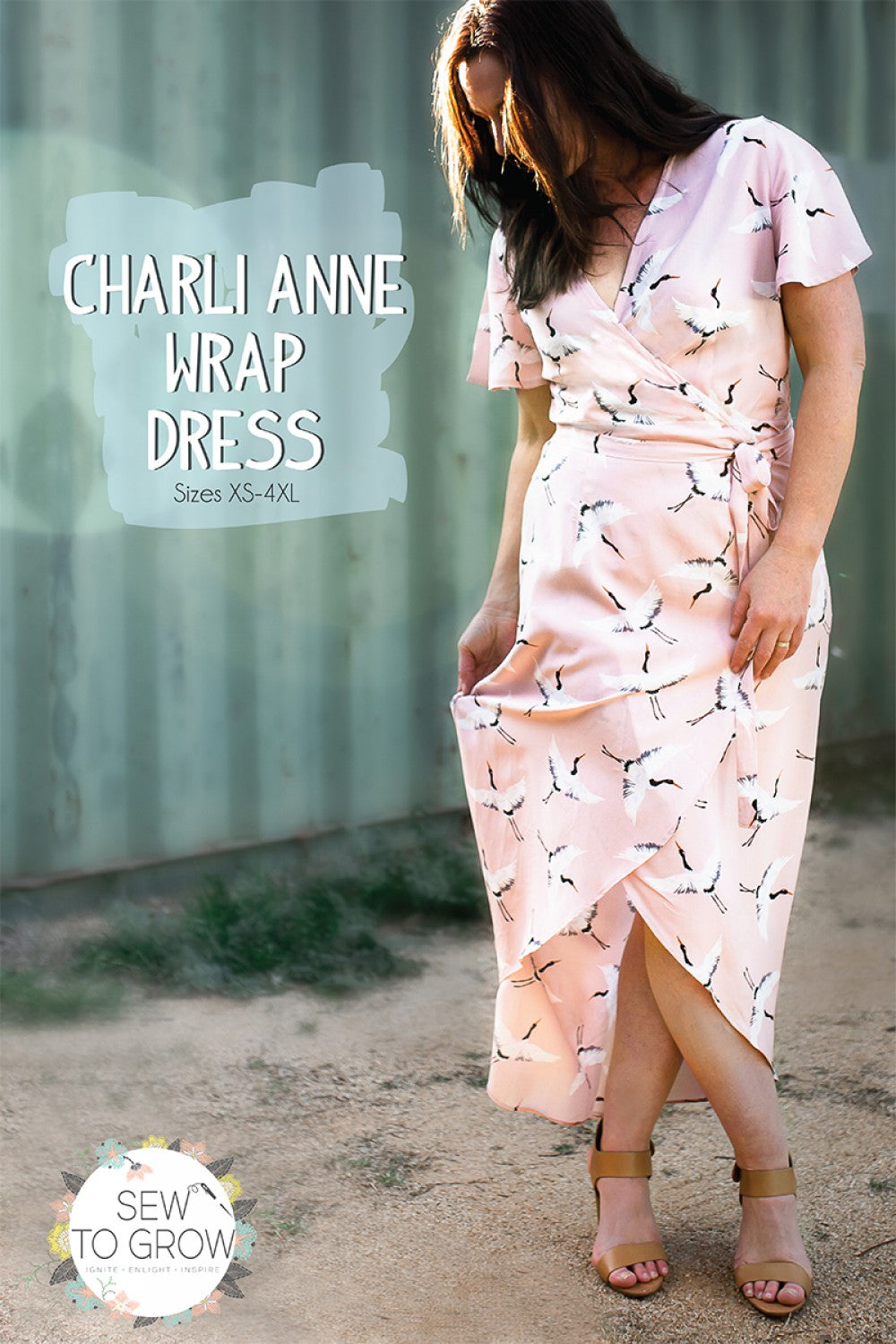 Charli Anne Wrap Dress Pattern