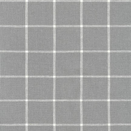 Essex Classic Woven Checks - Steel