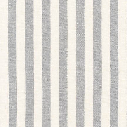 Essex Classic Woven Stripes- Steel