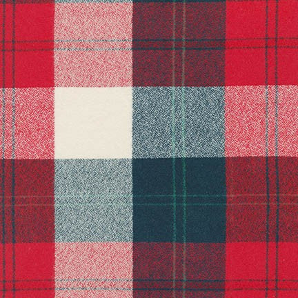 Mammoth Flannel - Americana - Thread Count Fabrics - Robert Kaufman