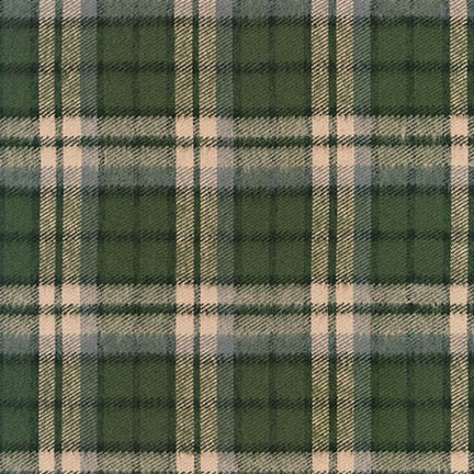 Durango Flannel - Green