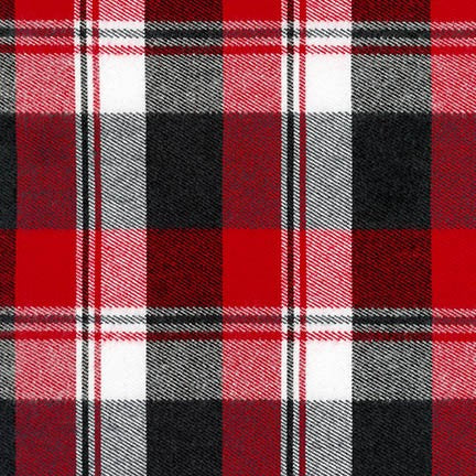 Durango Flannel - Red