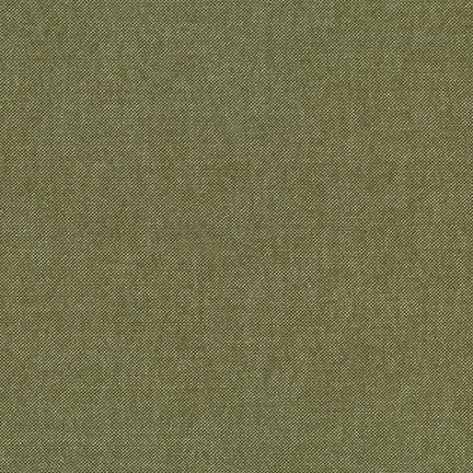 Chambray Flannel - Olive