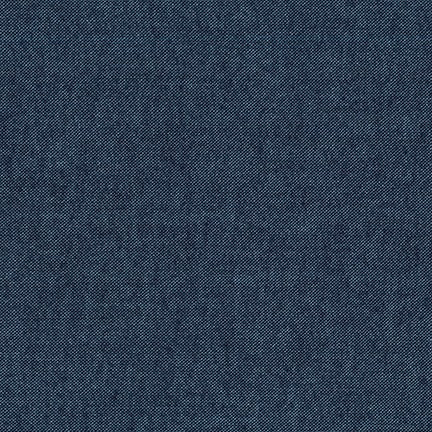 Chambray Flannel - Denim