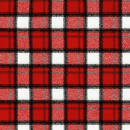 Junior Mammoth Flannel - Cardinal