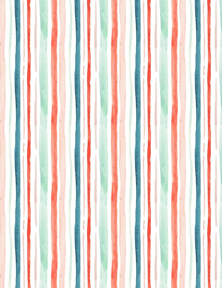 Baby, It's Cold Outside - Holiday Stripe
