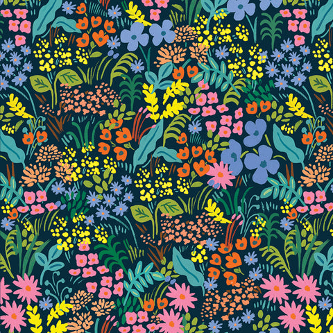 English Garden - Meadow Navy