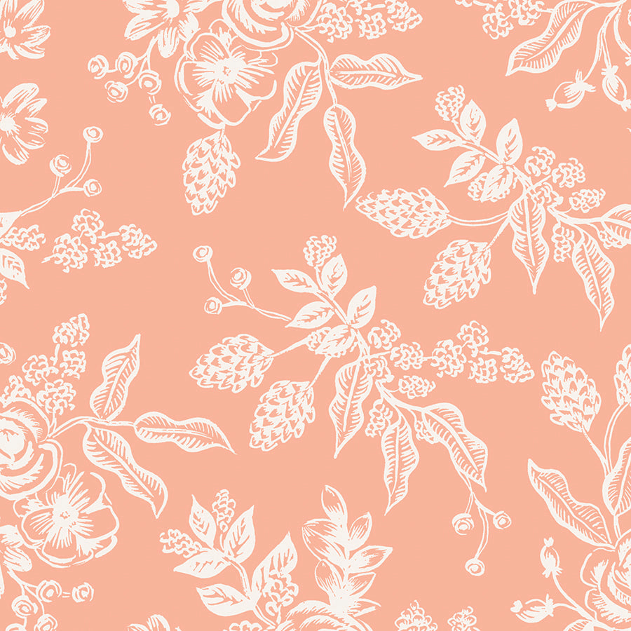 English Garden - Toile Peach