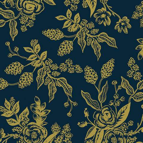 English Garden - Toile Navy