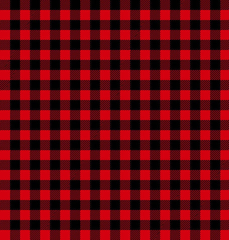Purely Canadian Eh - Flannel Plaid Red