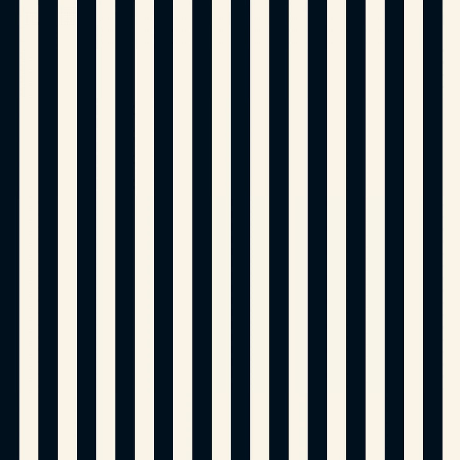 In Bloom - Stripes Black