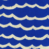 Kujira & Star - Waves Blue Sea | Canvas