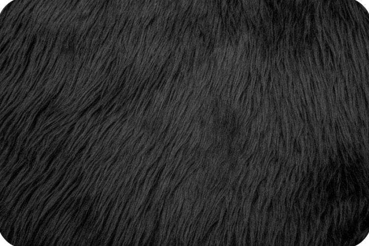 Luxury Shag Fur - Black
