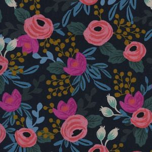 Menagerie - Rosa Navy | Canvas