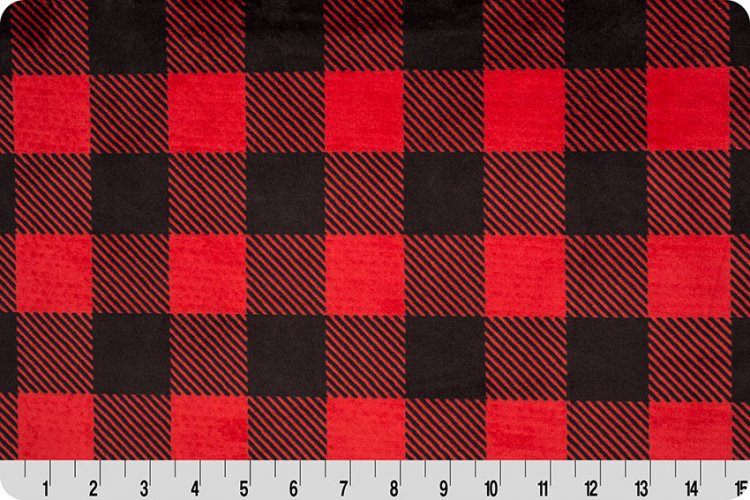 Buffalo Check Cuddle - Red/Black