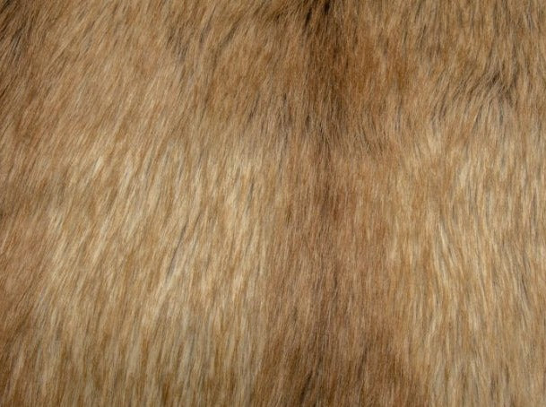 Fox Tail Fur - Gold