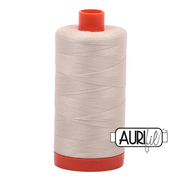 Aurifil 50wt - Light Beige