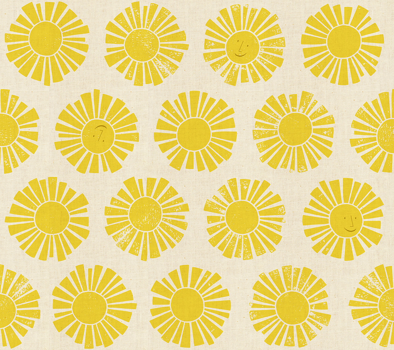 By The Seaside - Sunshine Yellow
