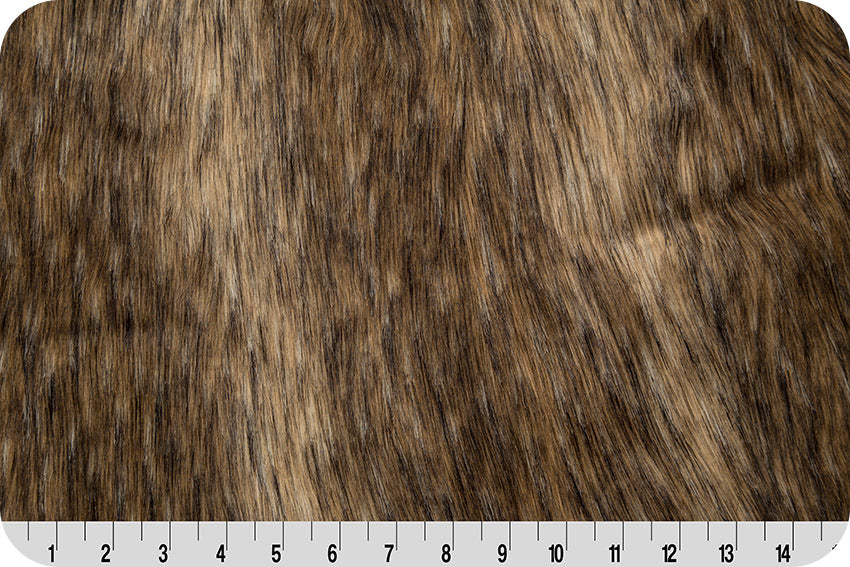 Mountain Coyote Fur - Brown