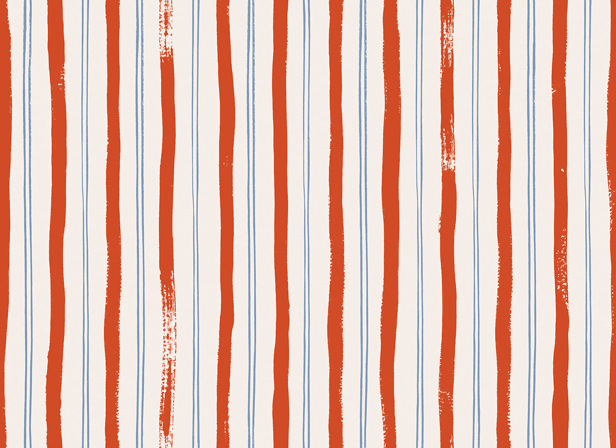 Meadow - Stripes Red