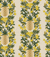 Primavera - Pineapple Stripe Cream | Canvas