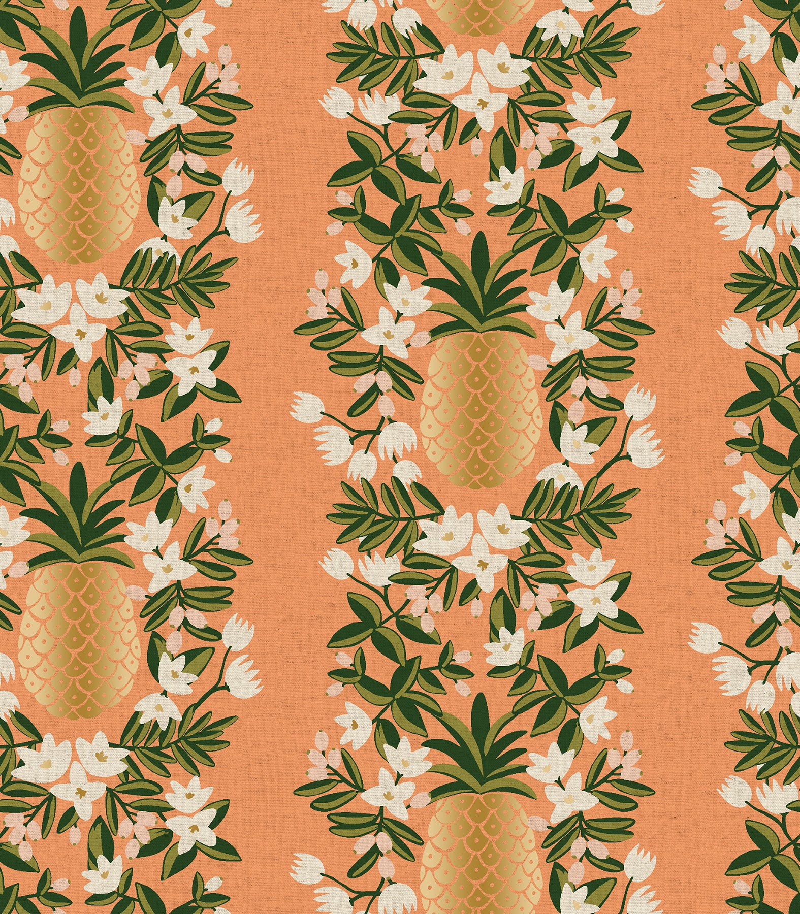 Primavera - Pineapple Stripe Peach | Canvas