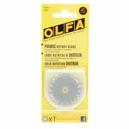 Olfa - Pinking Blades 45mm 1 Pack