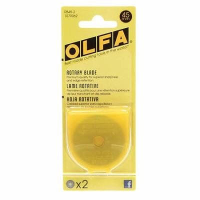 Olfa - Pinking Blades 45mm 2 Pack
