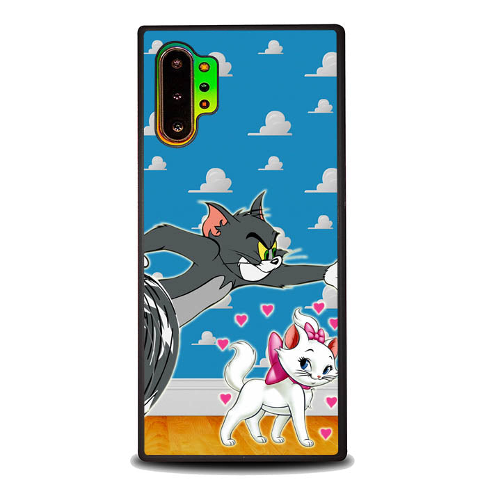 tom and marie cat L0142 Samsung Galaxy Note 10 Plus , Note10+ Case