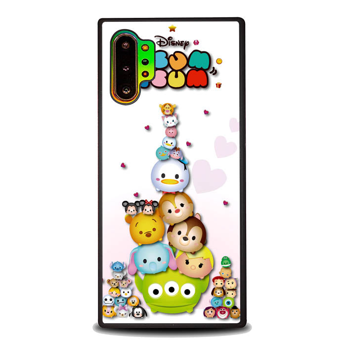 Tsum Tsum Disney Character L0453 Samsung Galaxy Note 10 Plus , Note10+ Case