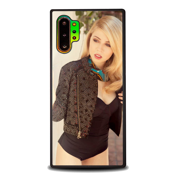 Jennette McCurdy The Last Day of Summer L1440 Samsung Galaxy Note 10 Plus , Note10+ Case