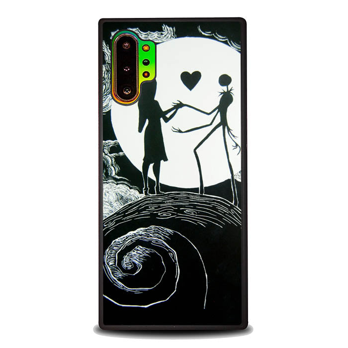 Nightmare Before Christmas Love L1463 Samsung Galaxy Note 10 Plus , Note10+ Case