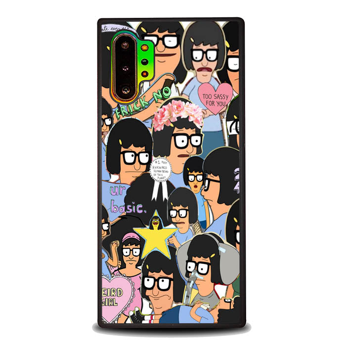 Tina Belcher Collage Bob's Burgers L1494 Samsung Galaxy Note 10 Plus , Note10+ Case