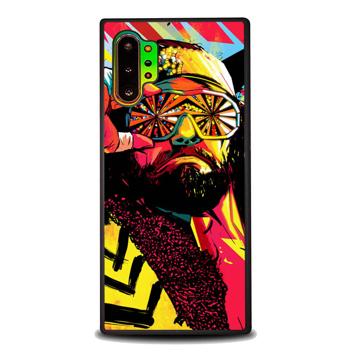 Macho Man Randy Savage L1587 Samsung Galaxy Note 10 Plus , Note10+ Case