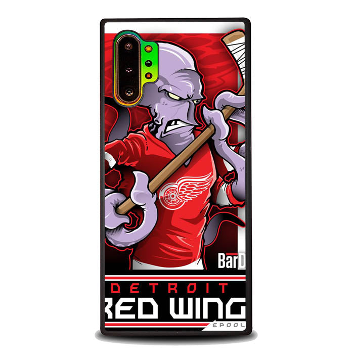 NHL Cartoon Mascout Detroit Red Wings L2081 Samsung Galaxy Note 10 Plus , Note10+ Case