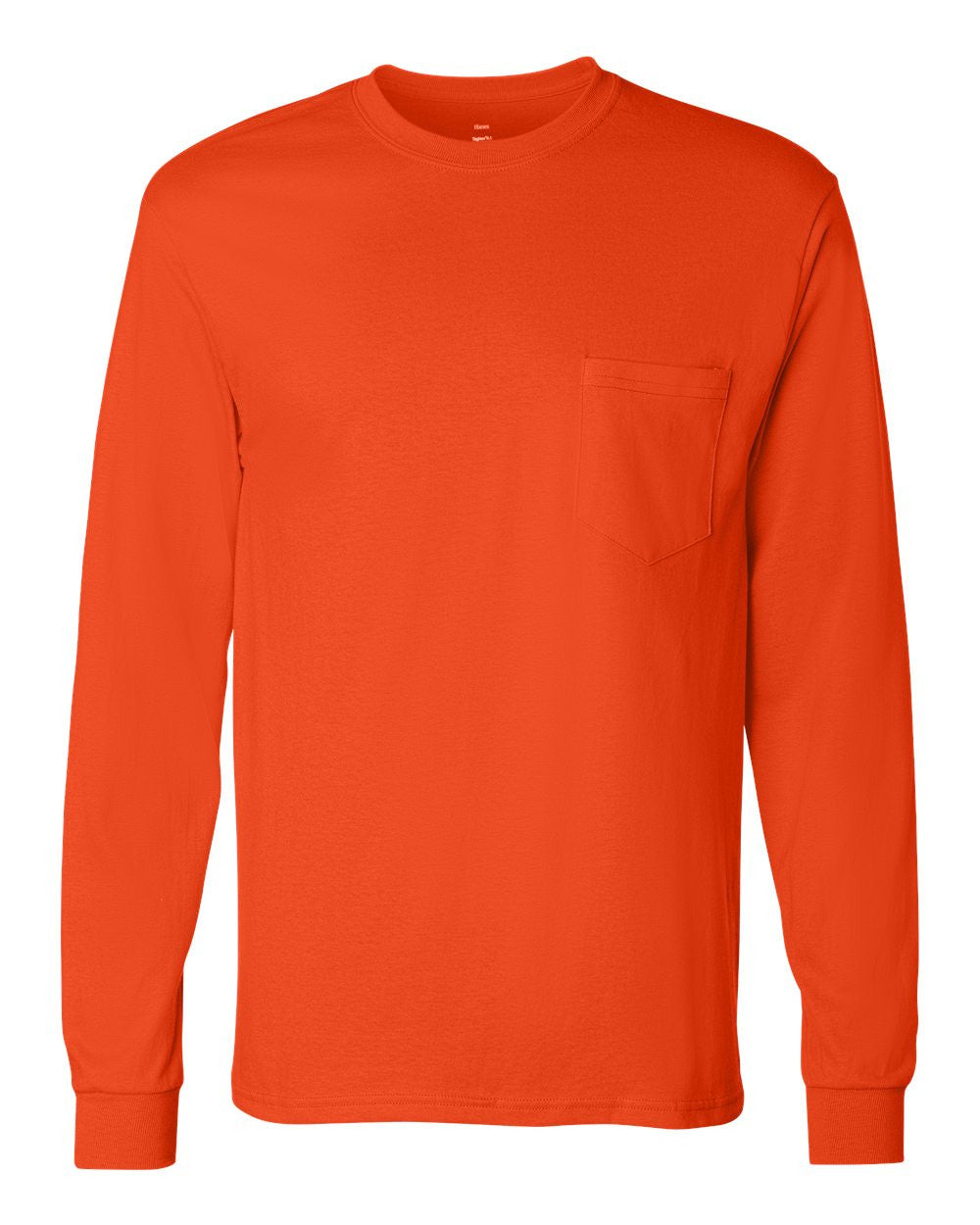 3 pack Pocket Long Sleeve T-shirts by Hanes