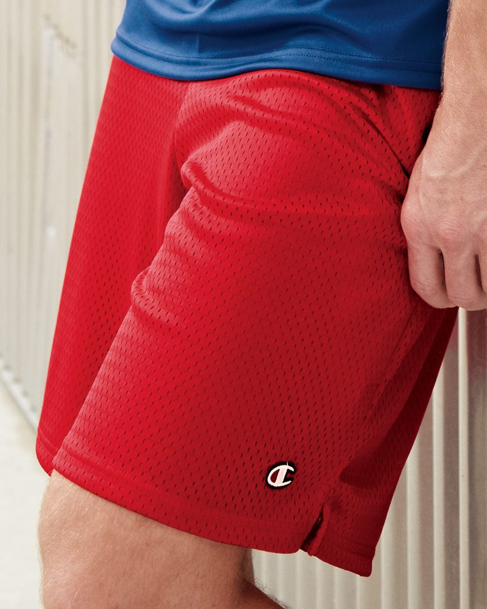 Champion : Mesh Shorts with Pockets - Discountedrack.com