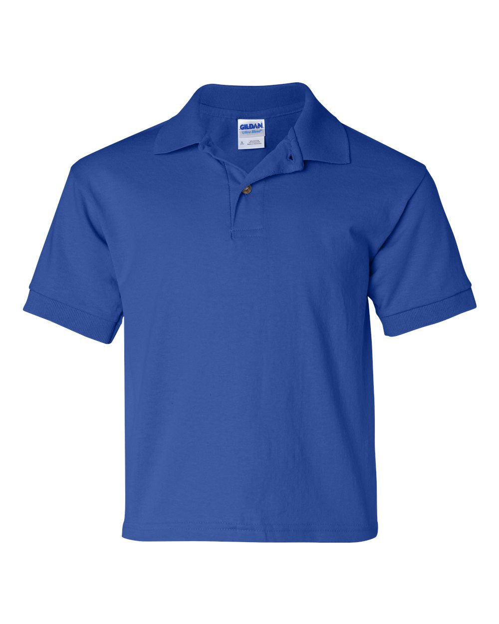 3 pack : Gildan Youth Polos Blend - onestoppolos.com