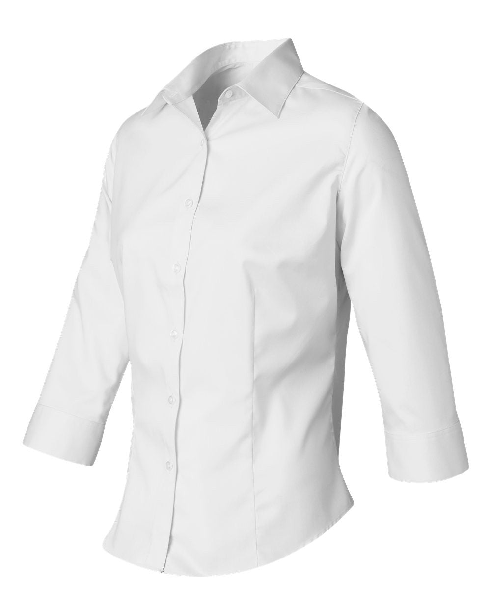 3/4 Sleeve Button down dress shirts by Van Heusen