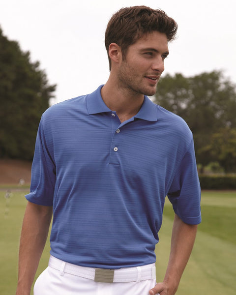 Performance Texture Polo for Men by Adidas - onestoppolos.com