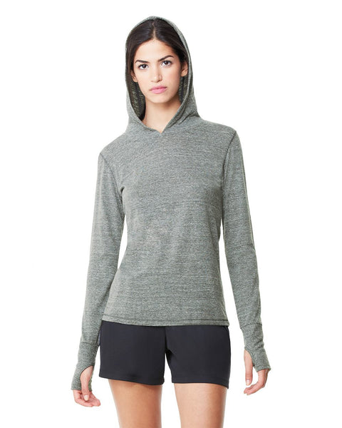 Long Sleeve Hooded Pullover by All Sport - Discountedrack.com