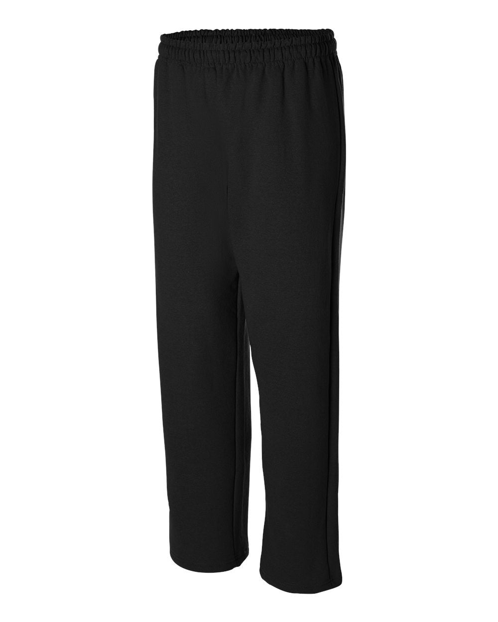 Heavy Sweatpants with open bottom by Gildan - Discountedrack.com